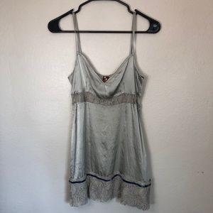 Vintage Dundup Silk & Lace Slip